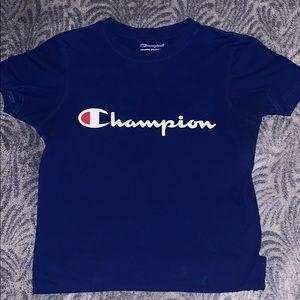 Blue Champion Kids Shirt